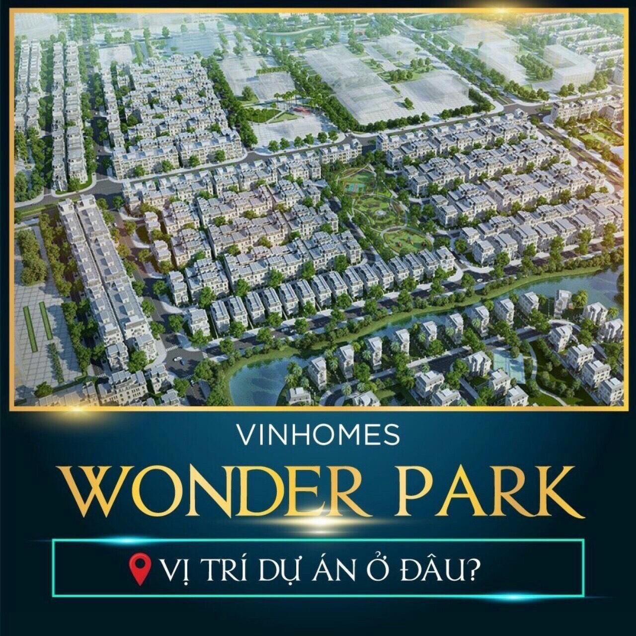 vị trí dự án vinhomes wonder park đan phượng